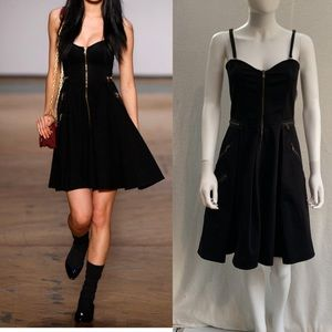 MARC BY MARC JACOBS 🖤Zipper Fit and Flare Dress